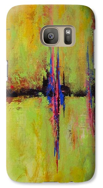 Galaxy Case featuring the painting Spring Is In The Air #4 by Suzzanna Frank