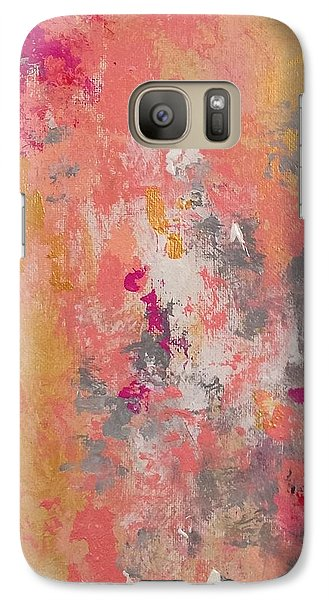 Galaxy Case featuring the painting Welcome Spring by Suzzanna Frank