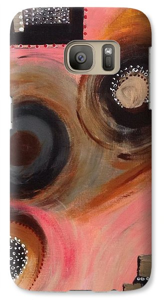 Galaxy Case featuring the painting Squiggles And Wiggles #8 by Suzzanna Frank