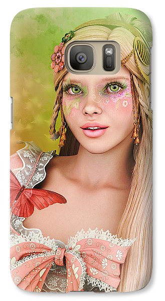 Galaxy Case featuring the digital art Spring Is In The Air by Jutta Maria Pusl