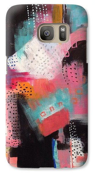 Galaxy Case featuring the painting Squiggles And Wiggles  #7 by Suzzanna Frank