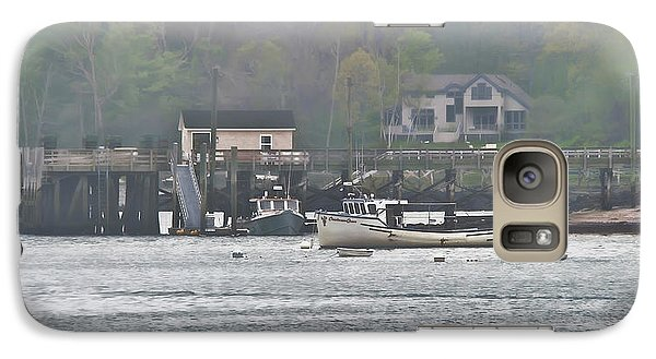 Galaxy Case featuring the photograph Spring Island Landing by Richard Bean