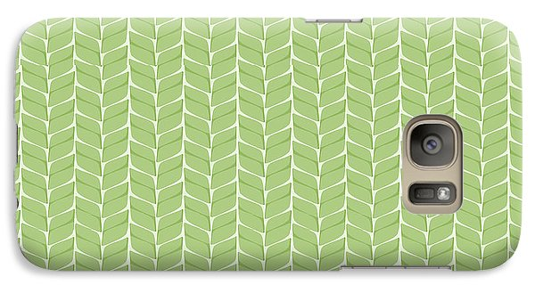 Galaxy Case featuring the digital art Spring Leaf by Linde Townsend