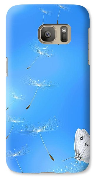 Galaxy Case featuring the painting Spring Lightness by Veronica Minozzi