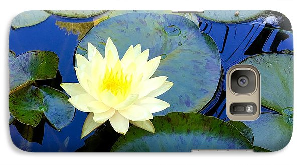 Galaxy Case featuring the photograph Spring Lily by Angela Annas
