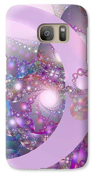 Spring Moon Bubble Fractal Galaxy S7 Case