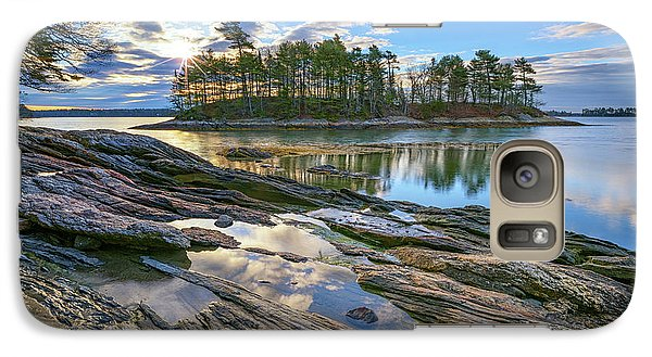 Galaxy Case featuring the photograph Spring Morning At Wolfe's Neck Woods by Rick Berk