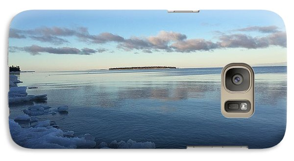 Galaxy Case featuring the photograph Spring Morning On Lake Superior by Paula Brown