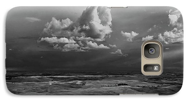Galaxy Case featuring the photograph Spring On The Palouse by Albert Seger