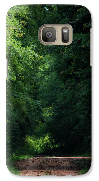 Galaxy Case featuring the photograph Spring Path Of Light by Shelby Young