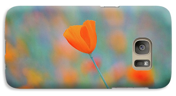 Flowers Galaxy S7 Case - Spring Poppy by Anthony Michael Bonafede