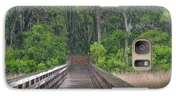 Galaxy Case featuring the photograph Spring Rain by Carol  Bradley