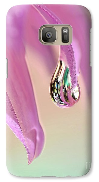 Spring Raindrop By Kaye Menner Galaxy S7 Case by Kaye Menner