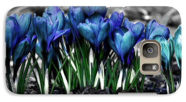 Galaxy Case featuring the photograph Spring Rebirth - Text by Shelley Neff