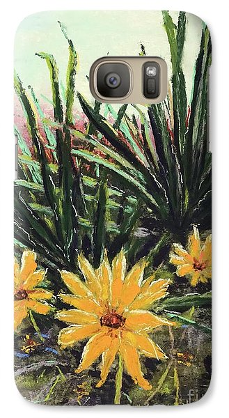 Galaxy Case featuring the pastel Spring Rising by Vickie Scarlett-Fisher