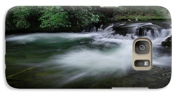 Galaxy Case featuring the photograph Spring River by Mike Eingle