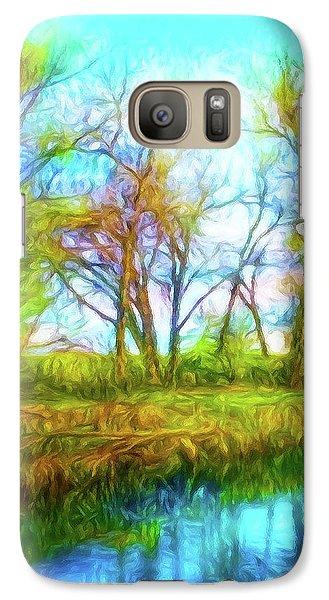 Spring River Rambling Galaxy S7 Case