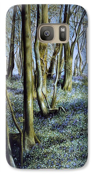 Galaxy Case featuring the painting Spring by Rosemary Colyer