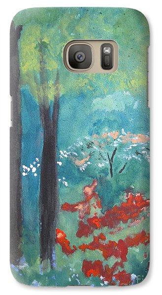Galaxy Case featuring the painting Spring by Sandy McIntire