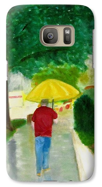Galaxy Case featuring the painting Spring Series IIi by Patricia Cleasby