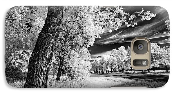 Galaxy Case featuring the photograph Spring Sky by Dan Jurak