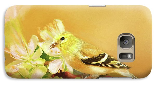 Galaxy Case featuring the photograph Spring Song Bird by Darren Fisher