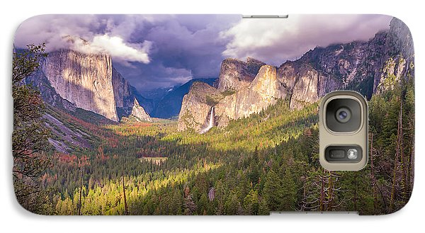 Galaxy Case featuring the photograph Spring Storm In Yosemite Valley by Scott McGuire