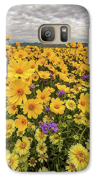 Galaxy Case featuring the photograph Spring Super Bloom by Peter Tellone
