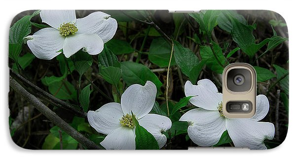 Galaxy Case featuring the photograph Spring Time Dogwood by Mike Eingle