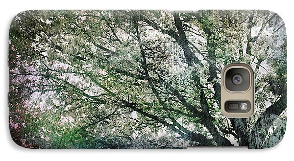 Galaxy Case featuring the painting Spring Tree by Gray  Artus