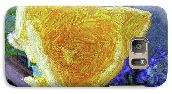 Galaxy Case featuring the photograph Spring Tulip by Susan Carella