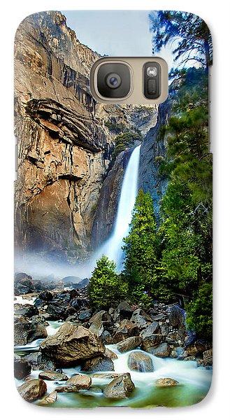 Yosemite National Park Galaxy S7 Case - Spring Valley by Az Jackson