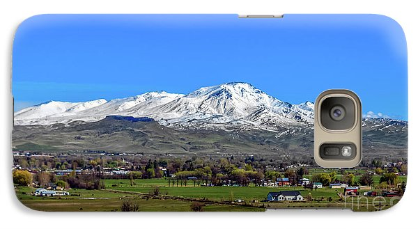 Galaxy Case featuring the photograph Spring View Of Squaw Butte by Robert Bales
