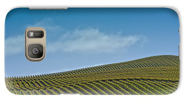 Galaxy Case featuring the photograph Spring Vineyard by Kim Wilson