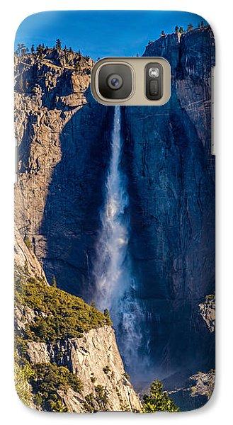 Yosemite National Park Galaxy S7 Case - Spring Water by Az Jackson