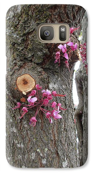 Galaxy Case featuring the photograph Spring Will Not Be Denied by Marie Neder