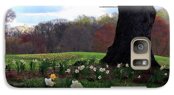 Galaxy Case featuring the photograph Springing Forward At Edgemont Golf Course by Polly Peacock