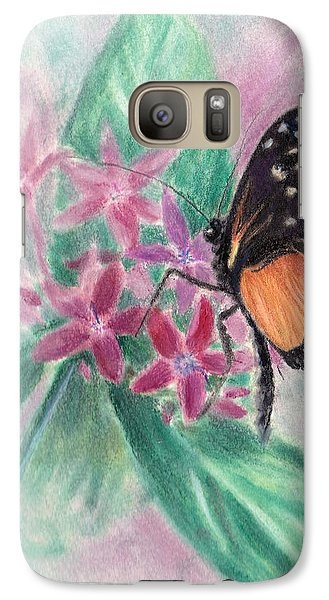Galaxy Case featuring the pastel Springs Morning by Brenda Thour