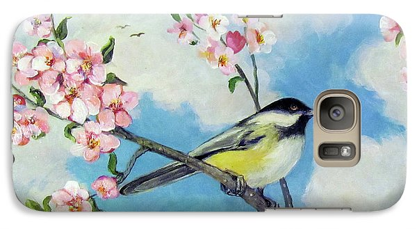 Galaxy Case featuring the painting Spring's Promise by Donna Tucker