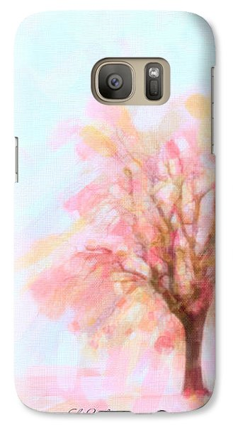 Galaxy Case featuring the painting Springtime by Chris Armytage