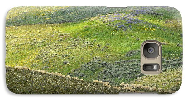 Galaxy Case featuring the photograph Springtime Graze.. by Al  Swasey