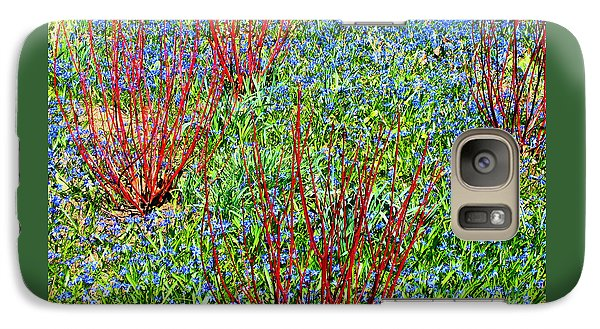 Galaxy Case featuring the photograph Springtime Impression by Ann Horn