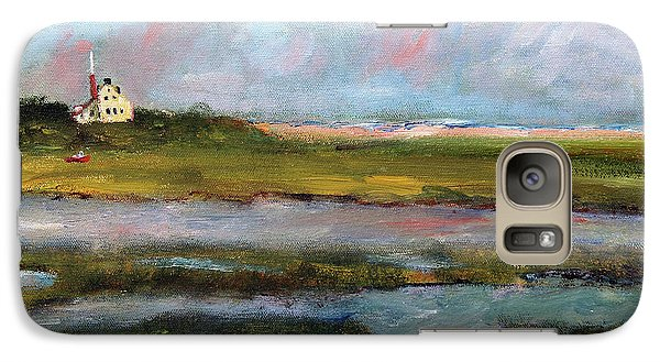 Galaxy Case featuring the painting Springtime In The Marsh by Michael Helfen