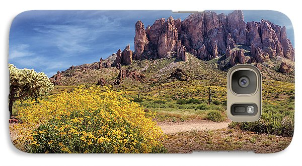 Galaxy Case featuring the photograph Springtime In The Superstition Mountains by James Eddy
