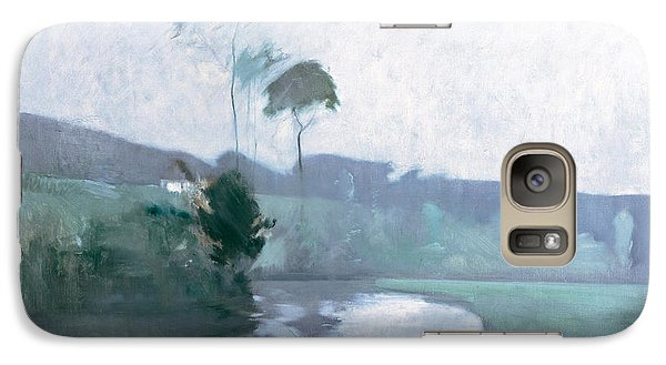 Galaxy Case featuring the painting Springtime by John Henry Twachtman
