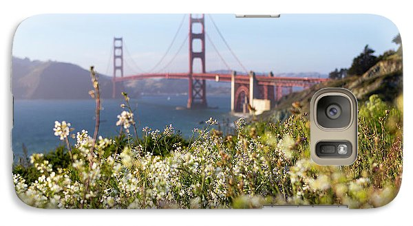 Galaxy Case featuring the photograph Springtime On The Bay by Everet Regal