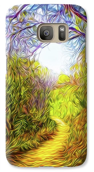 Springtime Pathway Discoveries Galaxy S7 Case