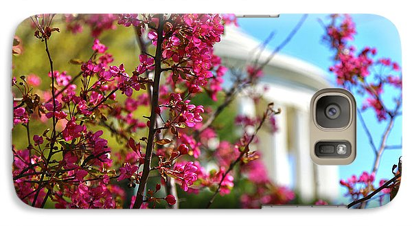 Galaxy Case featuring the photograph Springtime Vibe by Mitch Cat