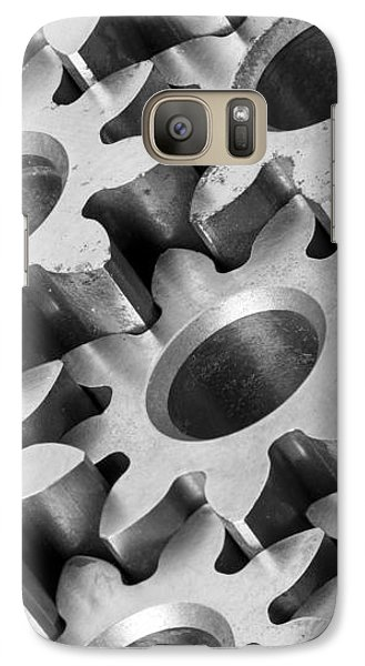 Galaxy Case featuring the photograph Sprockets by Jim Hughes