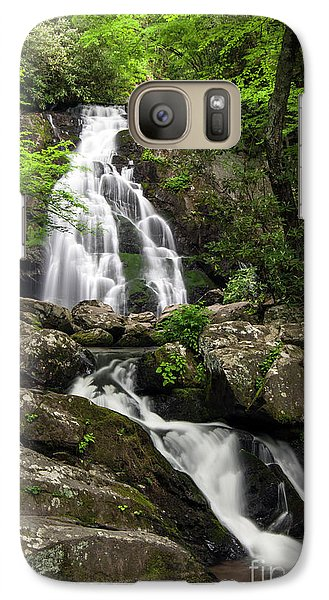 Galaxy Case featuring the photograph Spruce Flats Falls - D009919 by Daniel Dempster